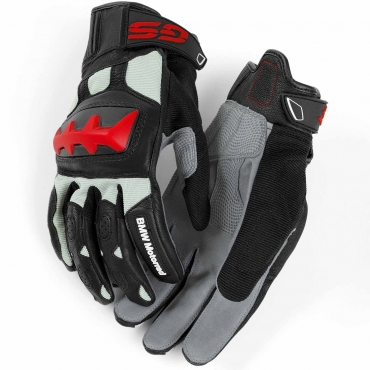 RALLYE GLOVES, unisex Grey/Red
