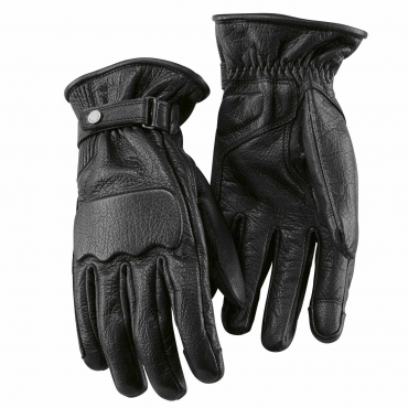 ROCKSTER GLOVES, unisex Black