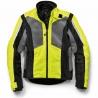 Chaqueta de moto AIRSHELL JACKET Neon Yellow/Grey Hombre
