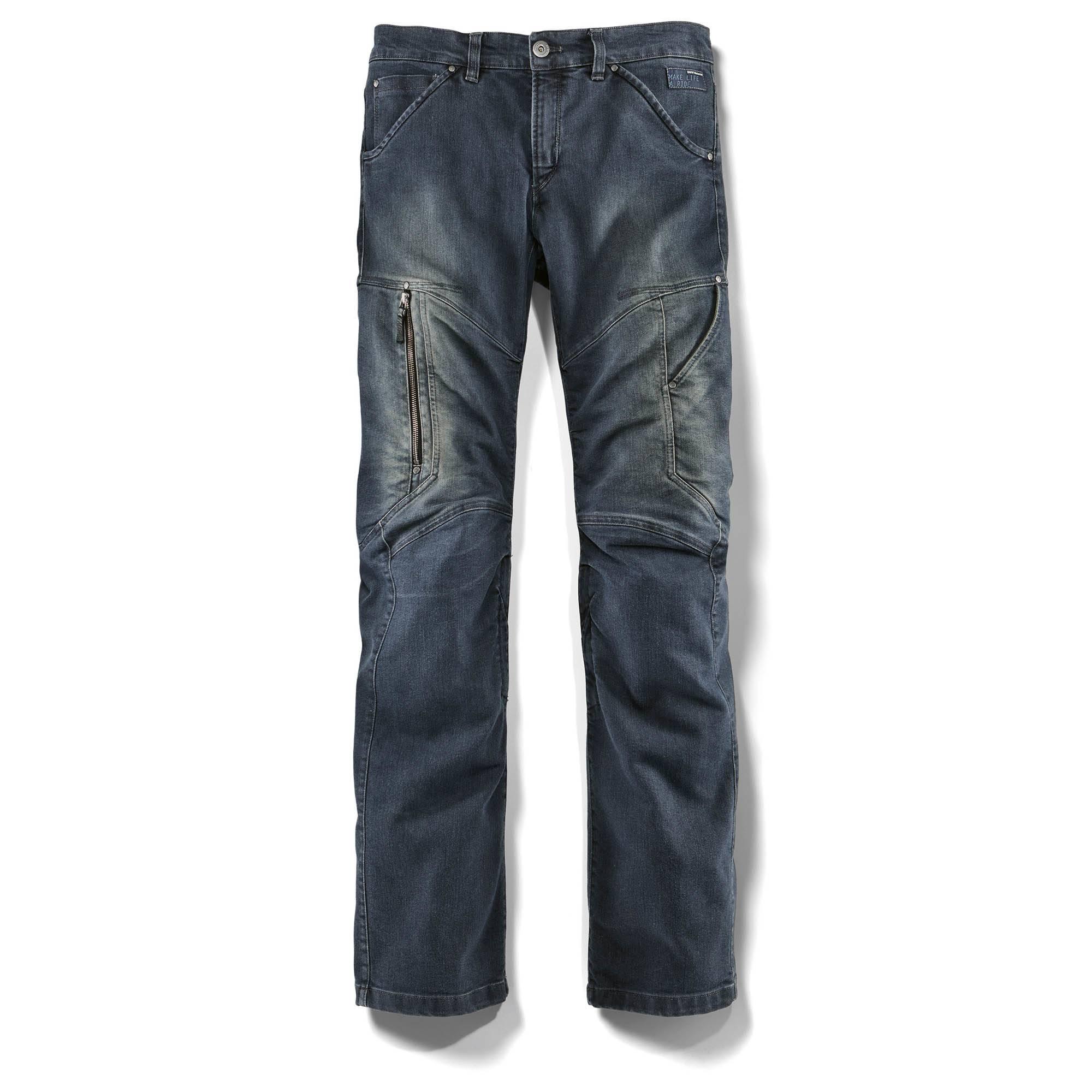 Pantalón de moto tejano CITY DENIM Hombre
