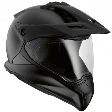 Casco de moto HELMET Matt negro