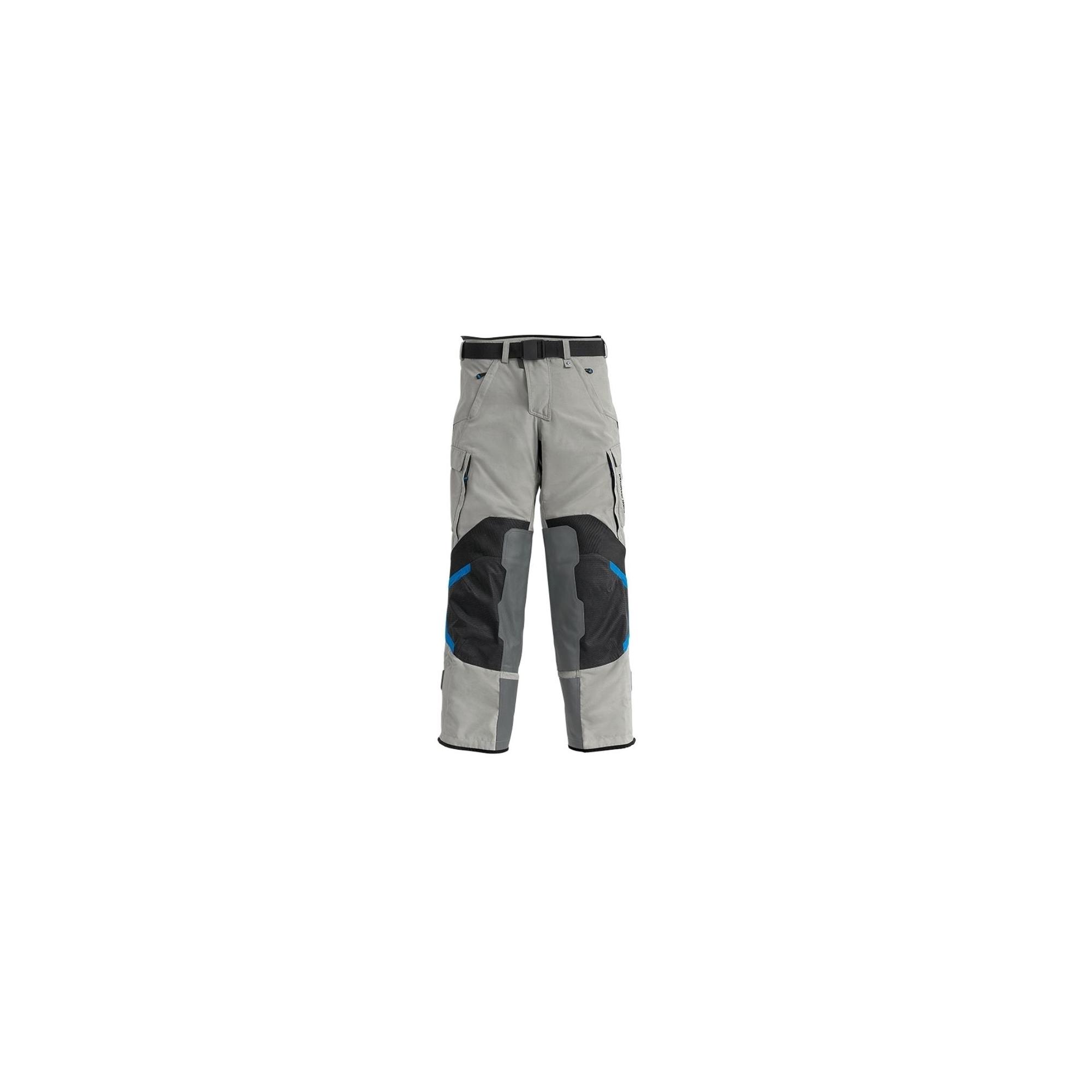 Pantalón de moto Rallye Gris/Azul Hombre