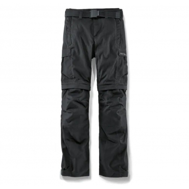 Pantalón de moto negro funcional y veraniego