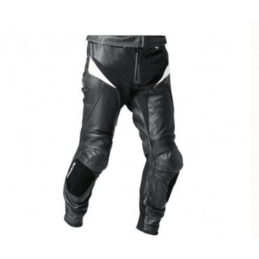 Pantalón de moto en piel de Napa